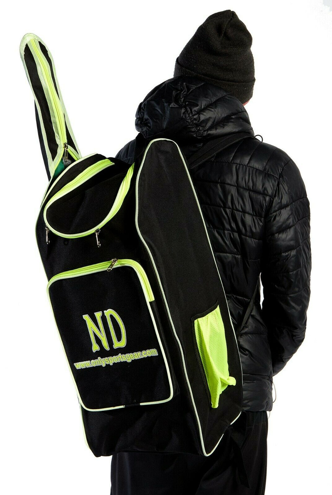 ND 5000 Medium Duffle Kit Cricket Bag 65 x 24 x 26 cm 90cm Bat Pocket