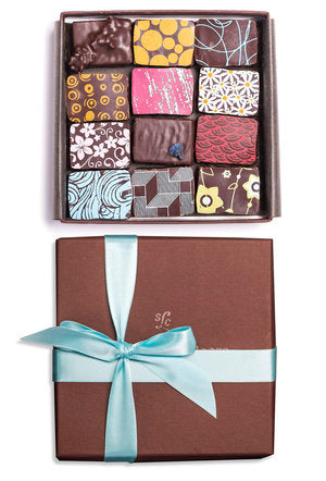 12-PIECE BOX OF ASSORTED CHOCOLATES