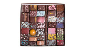 36-PIECE BOX OF ASSORTED CHOCOLATES