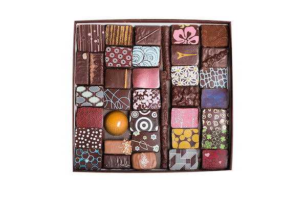 72-PIECE BOX OF ASSORTED CHOCOLATES