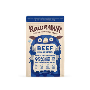 Raw Rawr - Beef and Mackerel