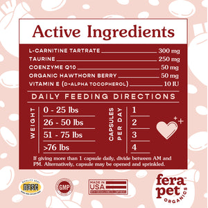 Fera Organics - Cardiac Support for Dogs and Cats
