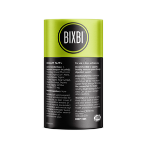 Bixbi - Digestion Organic Mushrooms Dog & Cat Supplements