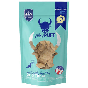 Himalayan Pet Supply - yakyPuff Cheese Dog Treats