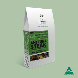 Loyalty Pet Treats - Ahi Tuna Steak