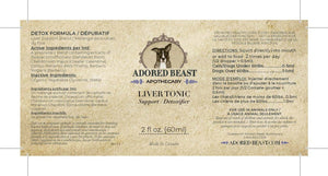 Adored Beast Apothecary - Liver Tonic