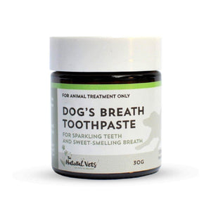 The Natural Vets - Dog's Breath Toothpaste