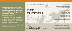 The Natural Vets - Tick Trickster Oil