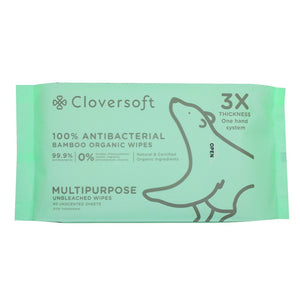 Cloversoft - Anti Bacterial Wipes 40 sheets