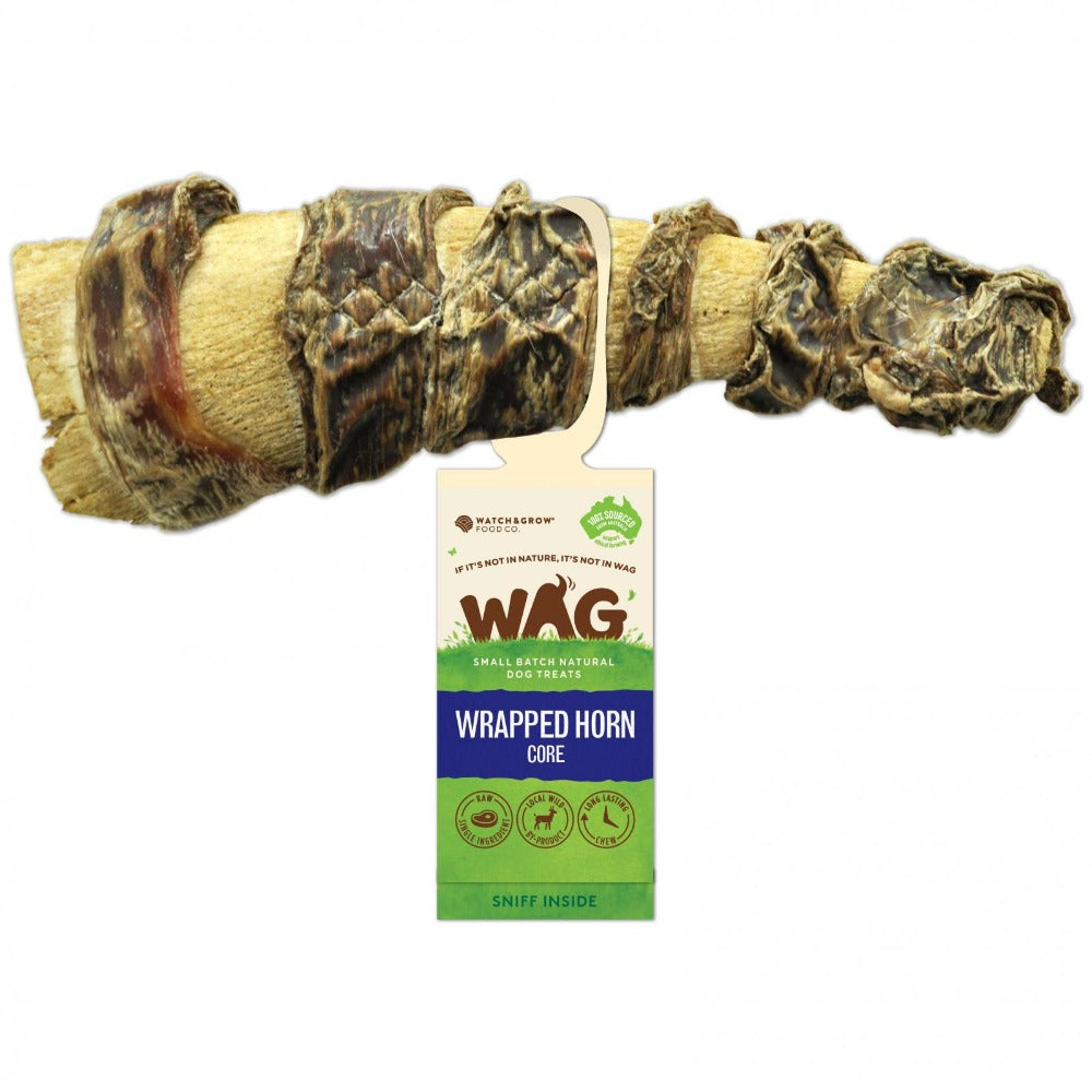 WAG Wrapped Horn Core Chew