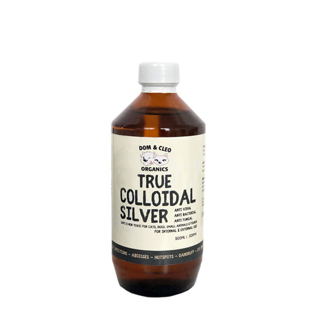 Dom and Cleo - Colloidal Silver 500 ML