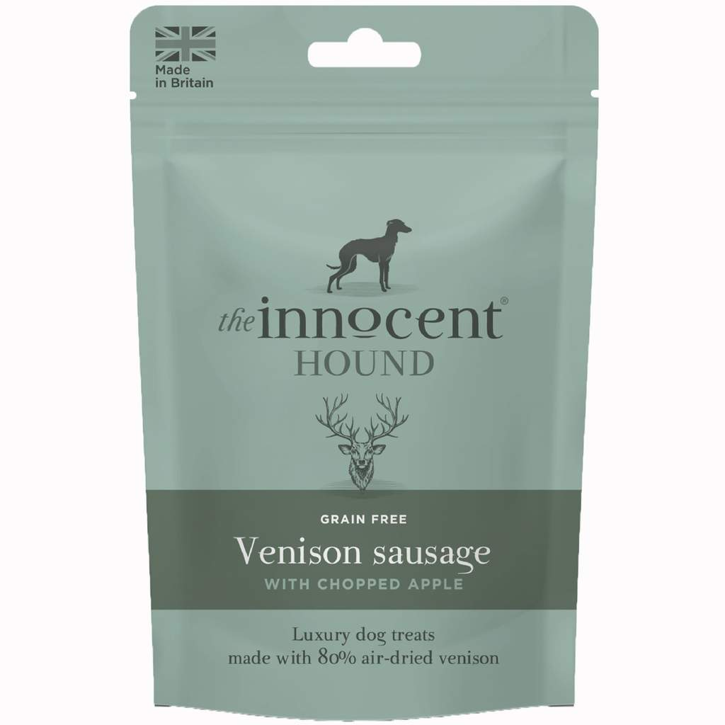 The Innocent Hound - Venison Sausage with Chopped Apple
