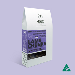 Loyalty Pet Treats - Lamb Chunks