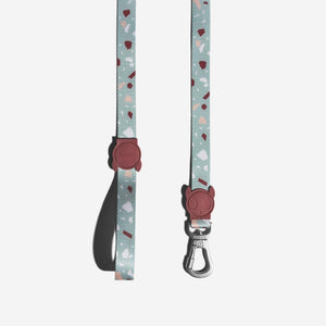 Zee.Dog Terrazzo Green Dog Leash