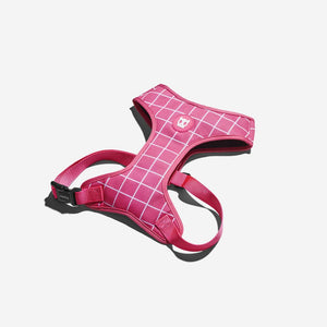 Zee.Dog Pink Wave Air Mesh Harness