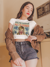 Load image into Gallery viewer, Women's 80's Retro Crop Top