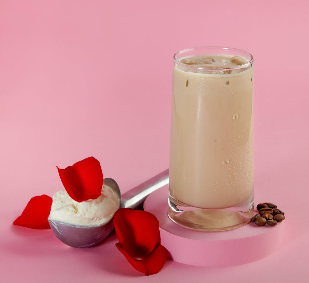 Rose Cold Coffee