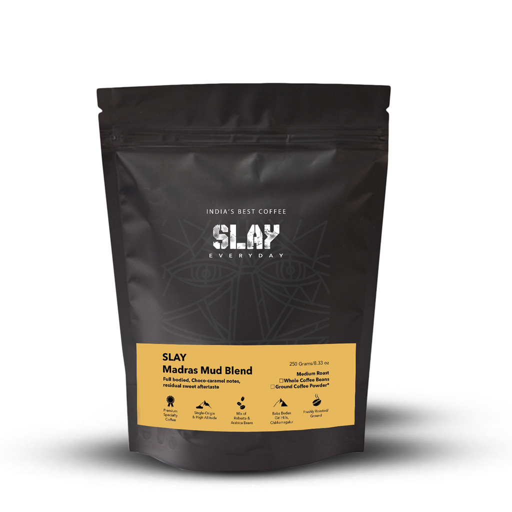 SLAY Madras Mud Coffee Grounds