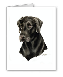 Chocolate Lab Contemporary Watercolor Art Collection by Artist DJ Rogers