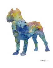 Load image into Gallery viewer, A Cane Corso 0 print based on a David J Rogers original watercolor