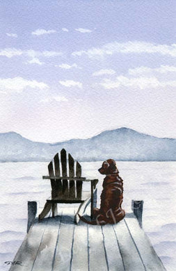 A Chesapeake Bay Retriever other print based on a David J Rogers original watercolor