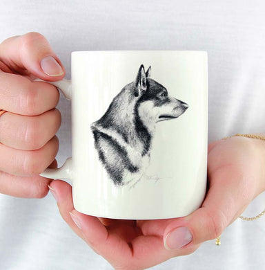 A Swedish Vallhund 0 print based on a David J Rogers original watercolor