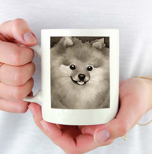 A Pomeranian 0 print based on a David J Rogers original watercolor