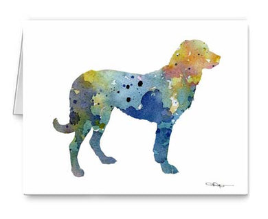 A Anatolian Shepherd 0 print based on a David J Rogers original watercolor