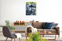 Load image into Gallery viewer, Affenpinscher Contemporary Watercolor Dog Art Print by Artist DJ Rogers