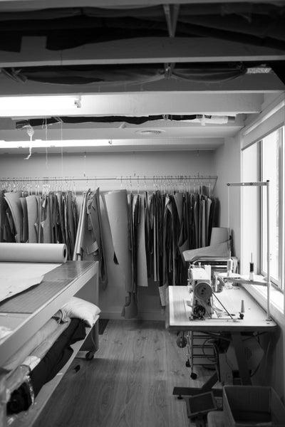 Photo of sewing warehouse