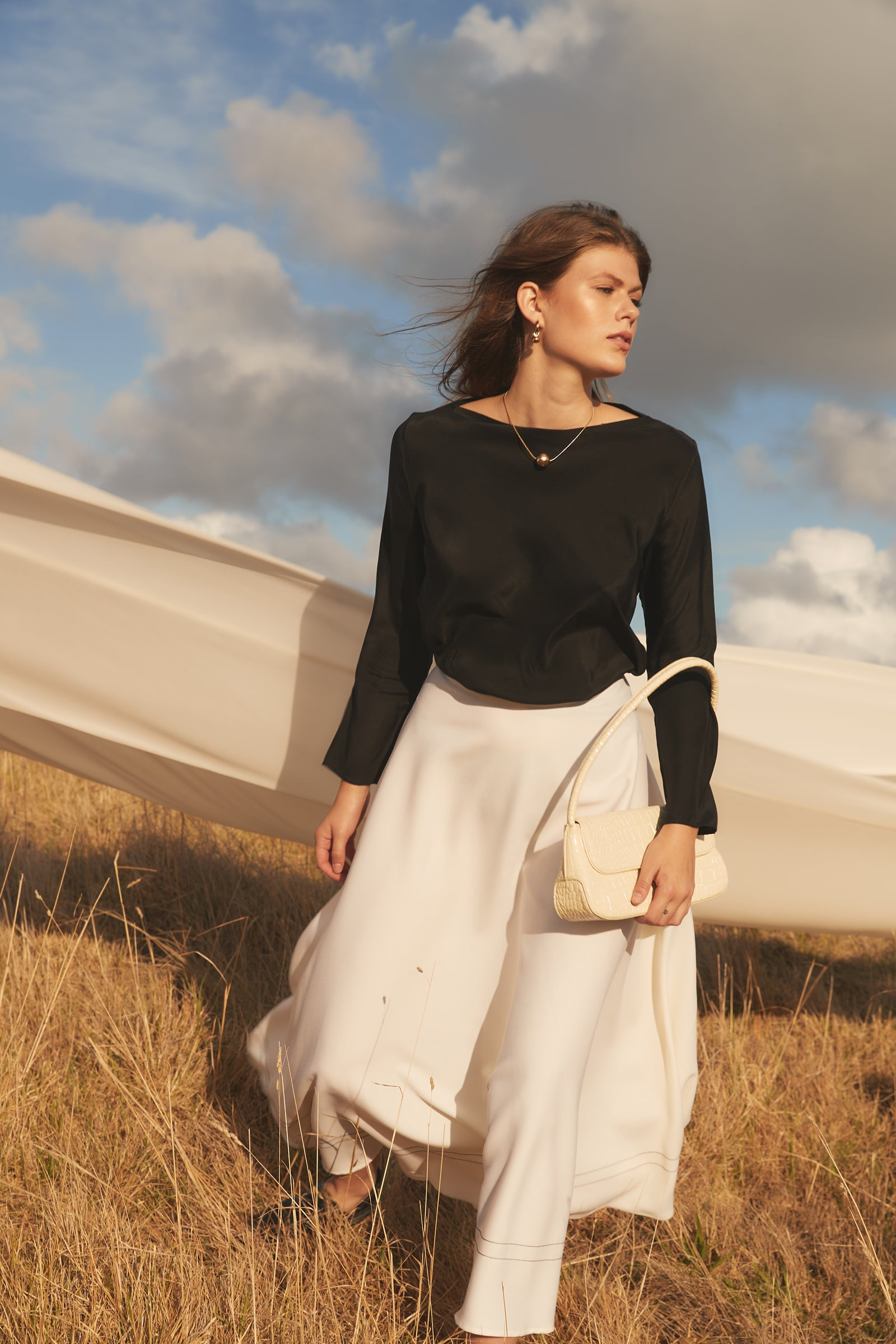 Isik Skirt Cream