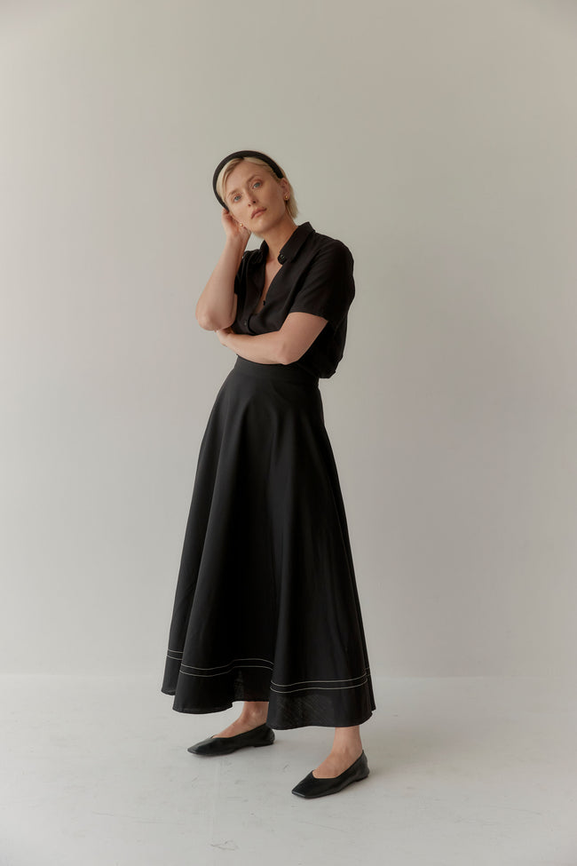 Isik Skirt Black