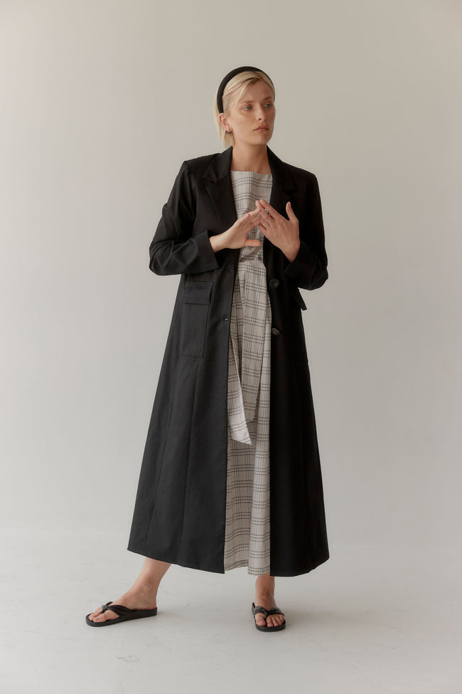 Frida Coat Black