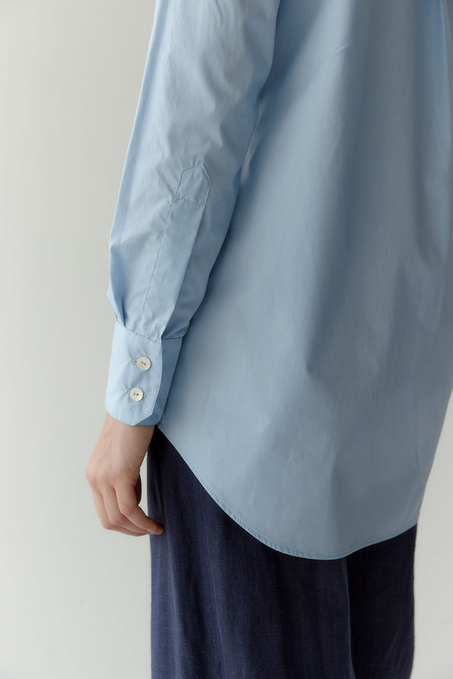 Crisp Shirt Powder Blue