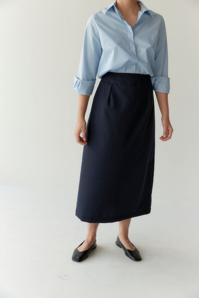 Wander Skirt Navy