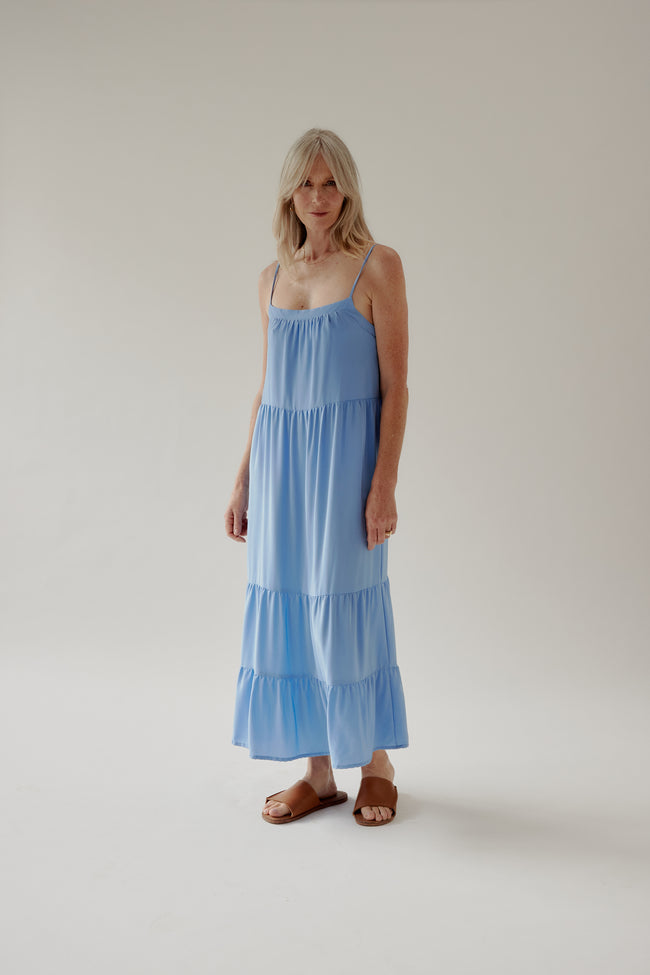 Winona Dress Cornflower
