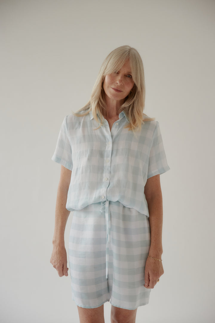 Gingham Summer Short Sleeve