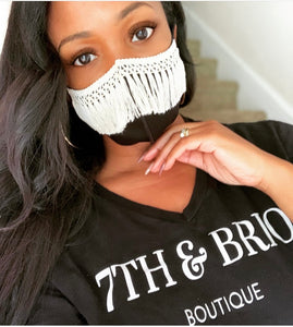 Handcrafted Macrame Face Masks