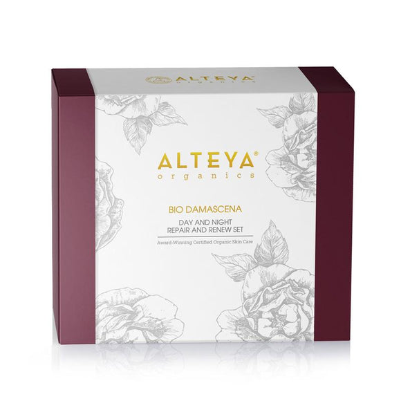 Organic Bio Damascena Luxury Gift Set - Alteya UK