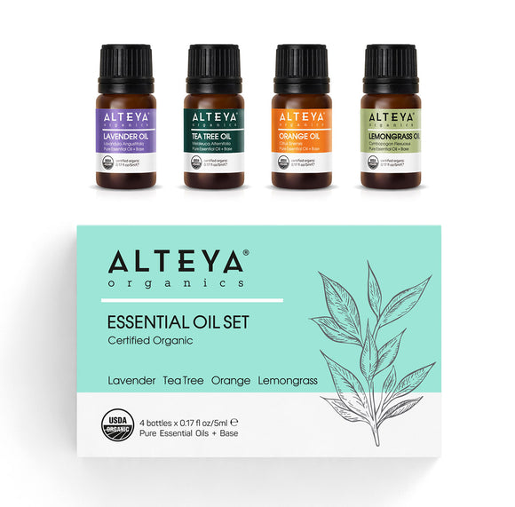 Organic Essential Oil Pure Gratitude Gift Set