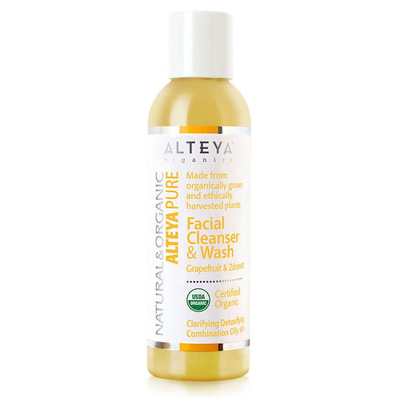 Skin Care Alteya Pure Facial Cleanser and Wash Grapefruit and Zdravetz-150-ml -Alteya-UK