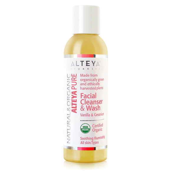 Skin Care Organic alteya pure Facial Cleanser and Wash Vanilla and geranium-150-ml-alteya-organics-UK