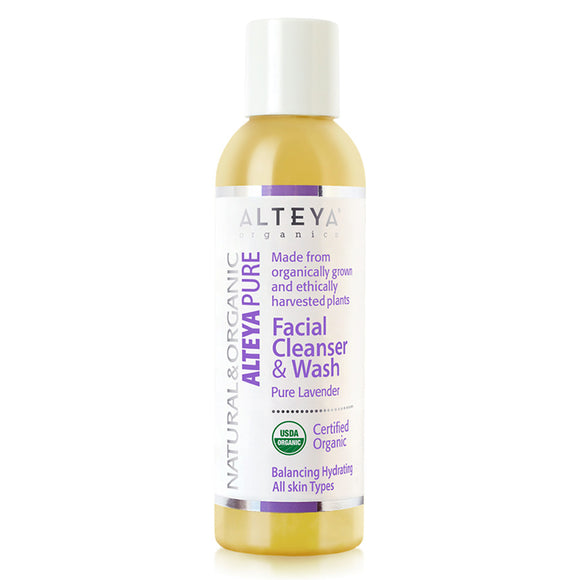 Skin care alteya pure facial cleanser and wash pure lavender-150-ml-alteia-organiks-uk