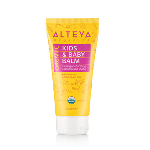 Organic Organic Kids & Baby Balm 90ml - Alteya Organics UK