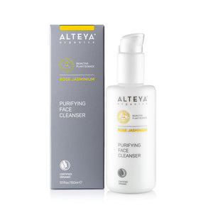 Organic Purifying Face Cleanser - Rose Jasminium 150 ml - Alteya Organics UK