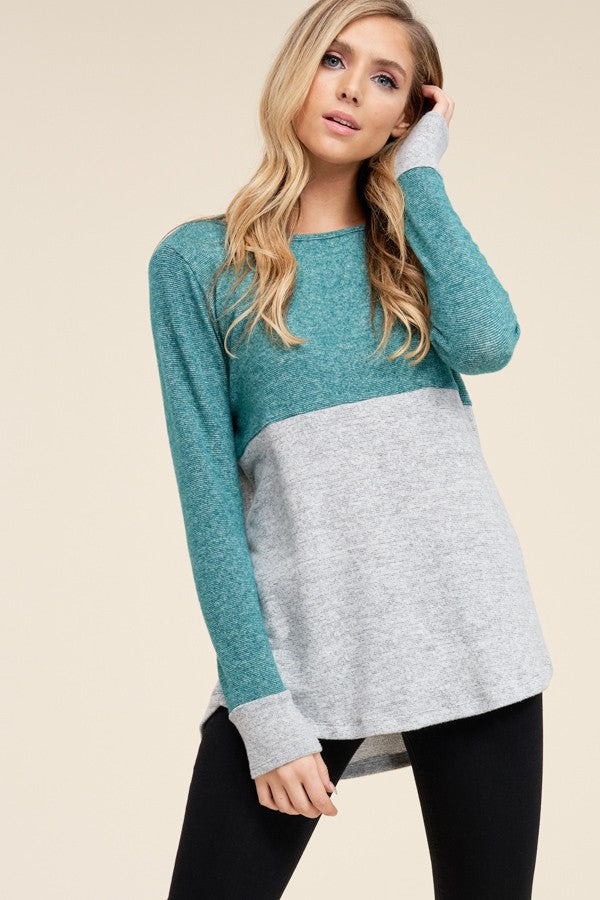 Brushed Pullover