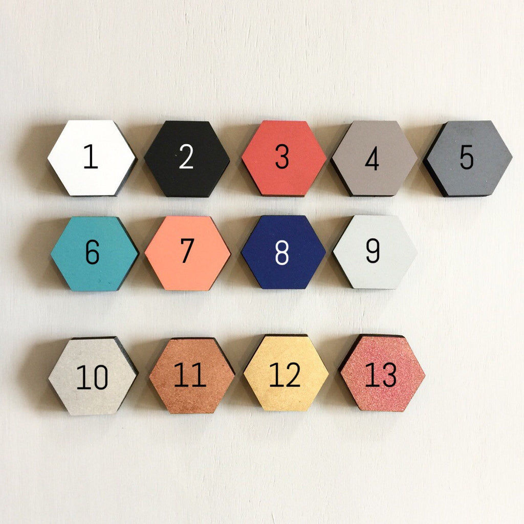 TABLE NUMBERS - MODERN