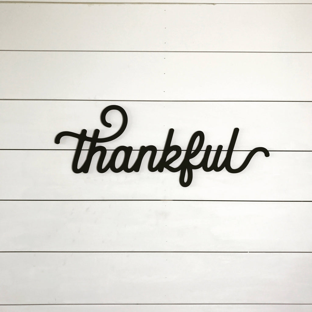CUT OUTS - THANKFUL