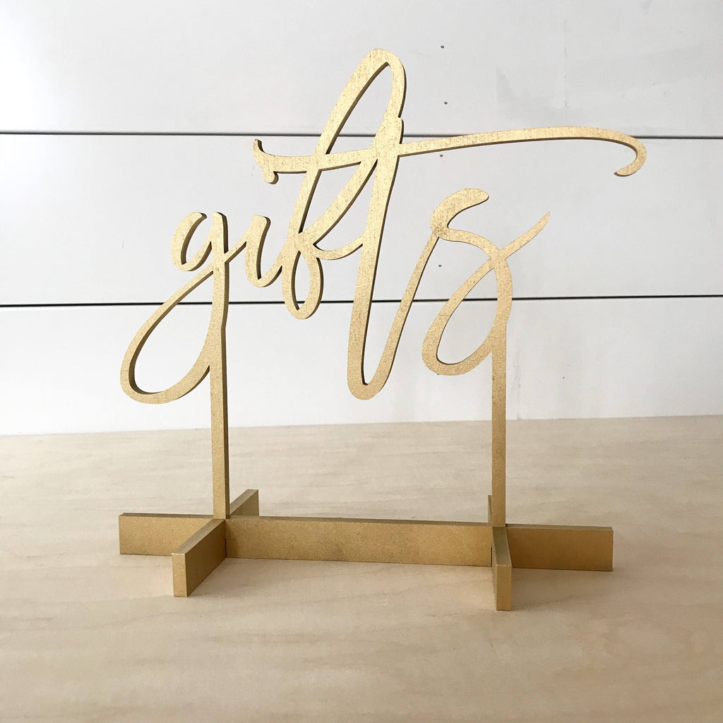 GIFTS SIGN - MODERN