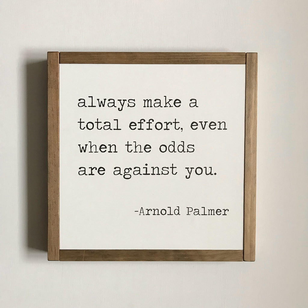 SPORT QUOTE - ARNOLD PALMER